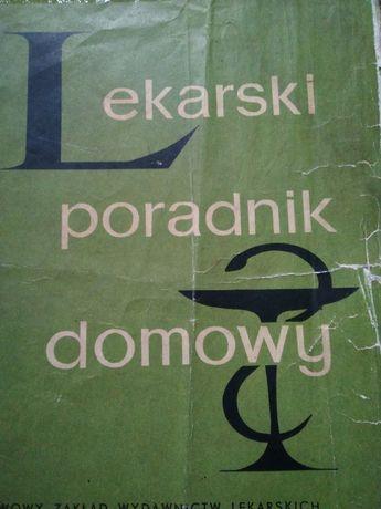 1964 rok książka medyczna Lekarski Poradnik Domowy PRL