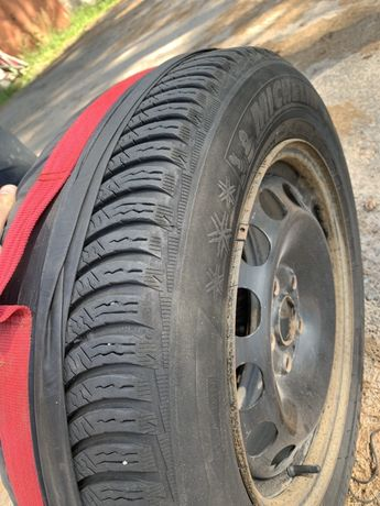 Шини + диски R 16 Michelin Alpine 5 ( Мишелин Альпин ) 205/60 96 H