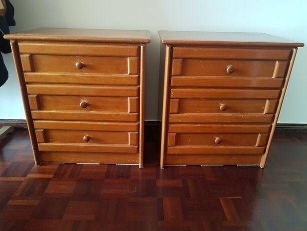 Moveis comodas madeira macica armario gavetas