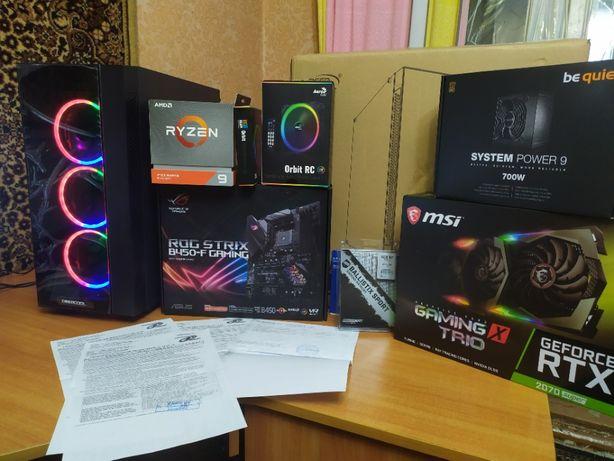 Комплект:Ryzen 3900x/DDR4 16gb/B450-F/корпус Гарантия.