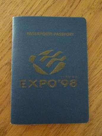 Passaporte Expo 98