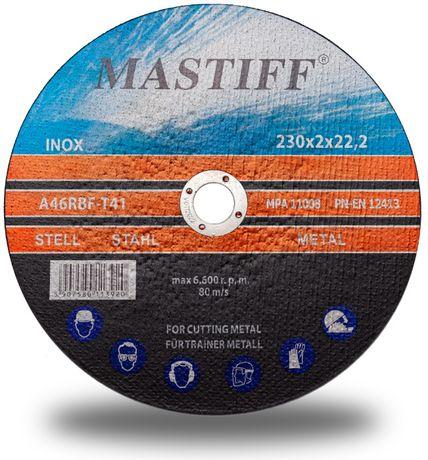 TARCZA DO CIĘCIA stali metalu 230 2,0 22,23 mm INOX