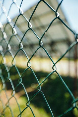 Сітка рабиця плетена ПВХ металева для огородження, дешевий паркан