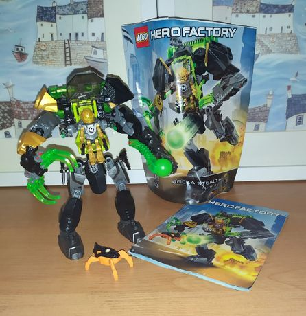 Zestaw Lego Hero Factory Rocka Stealth Machine 44019
