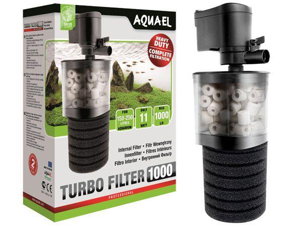 Filtr Aquael Turbo Filter 1000 l/h wewnętrzny do akwarium NOWY