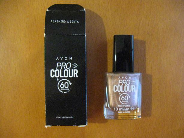 Lakier do paznokci Pro Colour 60, flashing lights (Avon)
