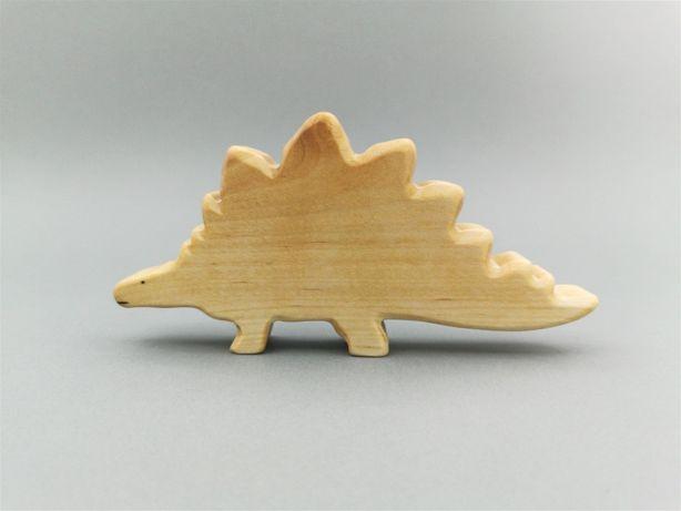 Drewniane dinozaury - figurka Stegozaur