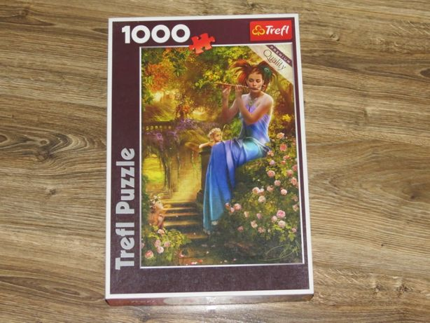 "Puzzle Trefl 1000 ""Kołysanka flecistki"""