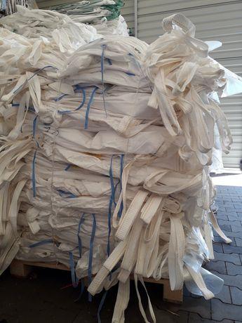 Opakowania BIG BAG czyste bigbagi 78x98x154 cm 4x uchwyty transportowe