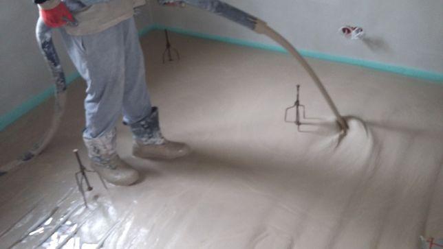 Posadzki wylewki anhydrytowe na ogrzewanie podłogowe Wołomin