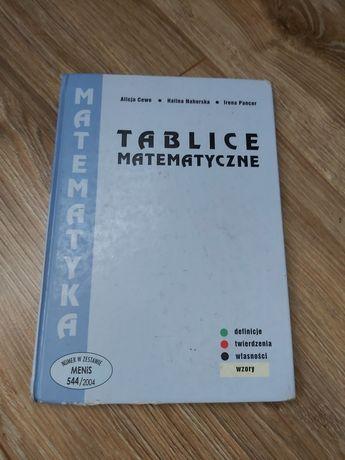 Sprzedam książkę  tablice matematyczne