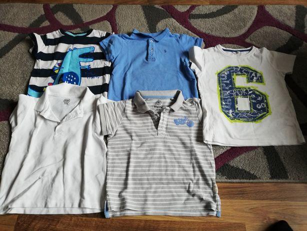 Zestaw koszulek - polo 98/104