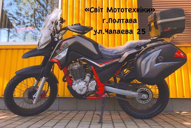 Продам новый мотоцикл Shineray Elcrosso 400 2020-года(не yamaha honda)