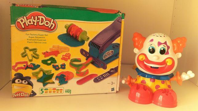 Play doh fun factory i clown