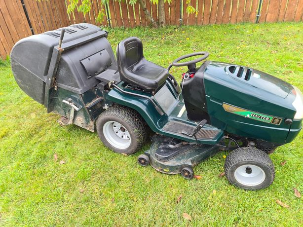 Kosiarka traktorek hayter countax westwood zamiatarka