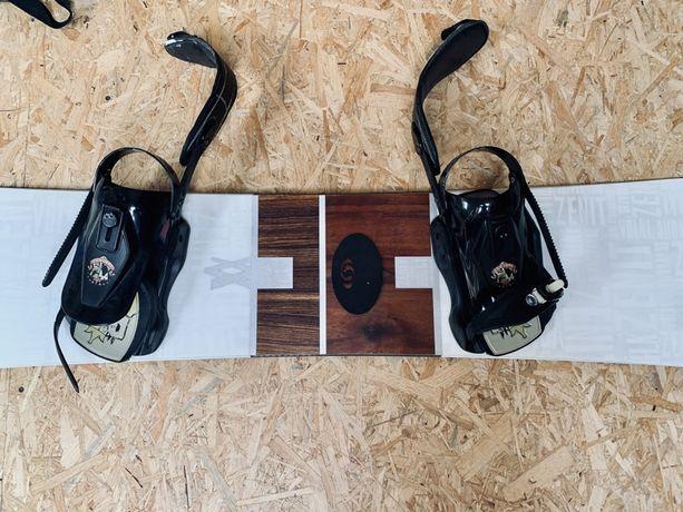 Deska snowbordowa VÖLKL + zapięcia