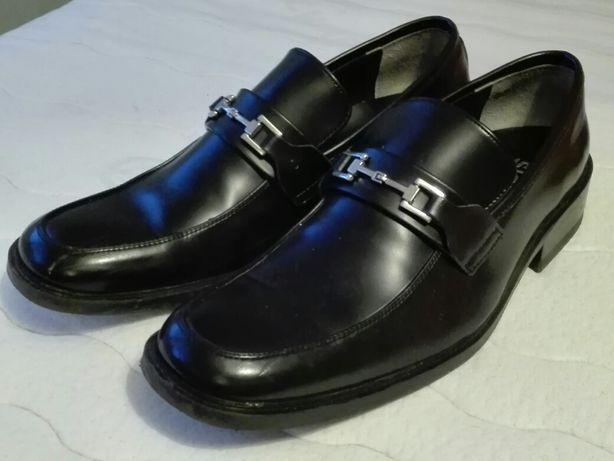 Buty męskie czarne rozm.43, długość wkladki 29 cm