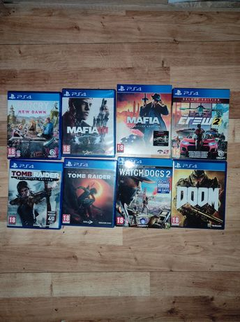 Gry PS4 PlayStation 4