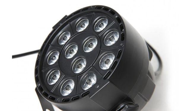 FRACTAL PAR LED 12x3W reflektor led para - 2 sztuki