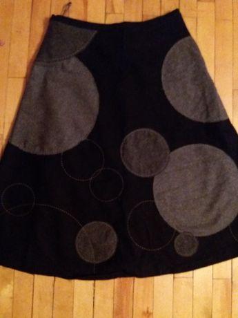 Шерстяная юбка состояние новой