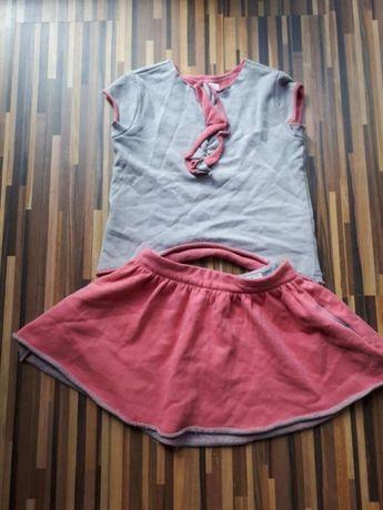 Bluzka spódnica komplet Reserved Kids rozm. 110
