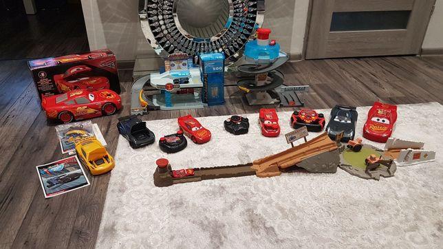 Mega zestaw zabawek z bajki Disney Cars Auta (patrz dod. Zdjęcia)