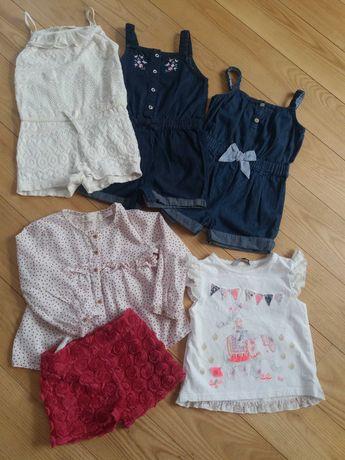 Речі для дівчинки на 2-3роки. Ромпери(комбінезони), шорти, блуза
