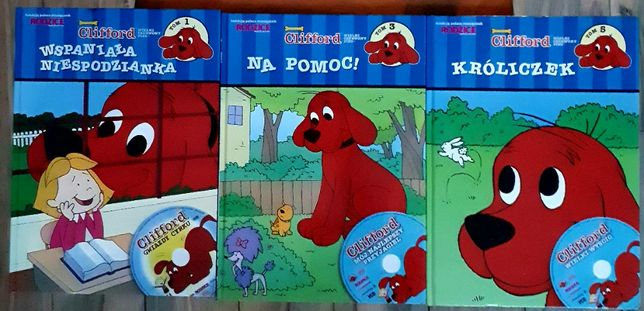 """""""Clifford - Wielki Czerwony Pies"""" - Wspaniała niespodzianka"""" za 3zł"""