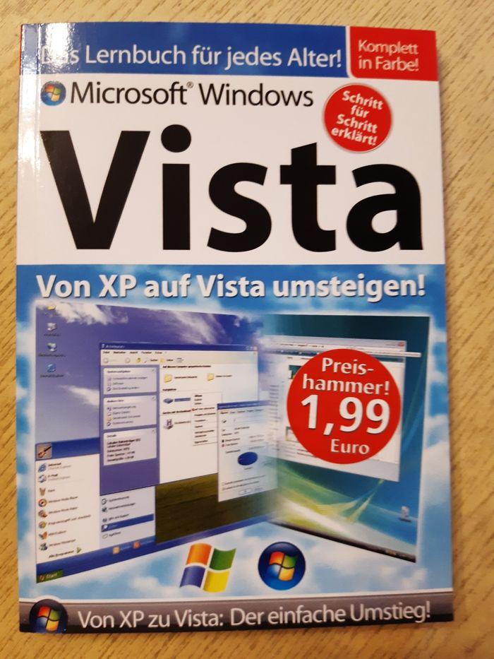 Podręcznik Microsoft Windows z XP na VISTA po niemiecku Chojnice - image 1