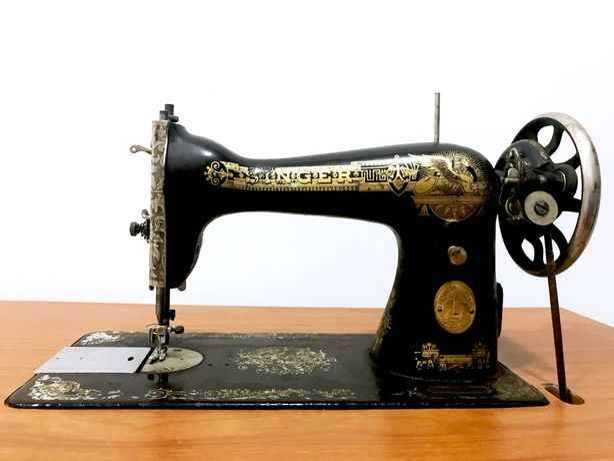 Máquina de Costura Singer Antiga Numerada
