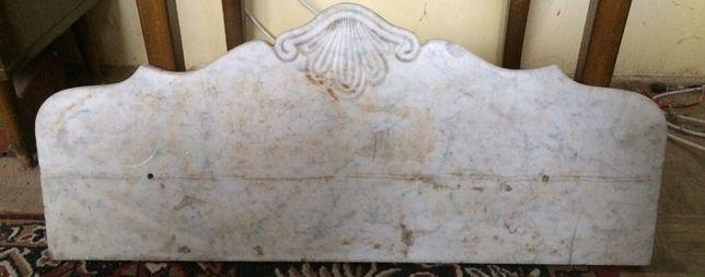 Blat marmurowy 84x35 cm