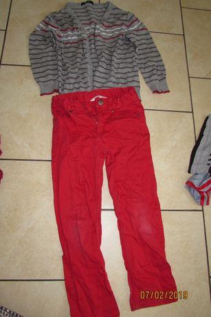 Duża paka ubrań dla chłopca rozm 110-116