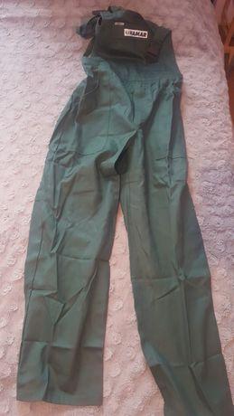 Spodnie robocze - ogrodniczki rozmiar L
