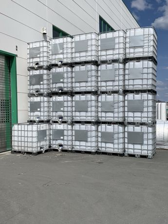 Zbiornik 1000L DPPL IBC - paletopojemnik, kontener jak nowy z 2021 TOP