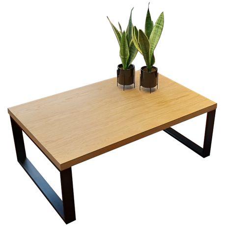 Stolik kawowy ława industrialny loft nowoczesny drewniany metalowy
