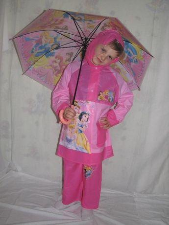 Дождевик для девочек ЛОЛ, LOL, Дисней, Принцесы,плащ от дождя