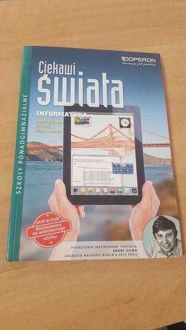 Książka do informatyki zakres podstawowy nowa nie używana