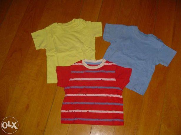 3 Camisolas Rapaz 6-9 Meses