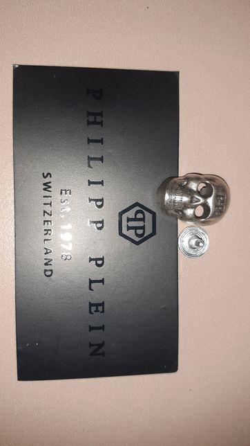 Кнопка череп Philip plein