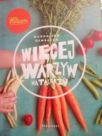 Książka Więcej warzyw na talerzu