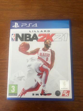 Jogo NBA 2K21 PS4