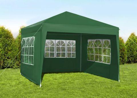 Садовий павільйон тент 3x3 м Павильон садовый Пататка шатер