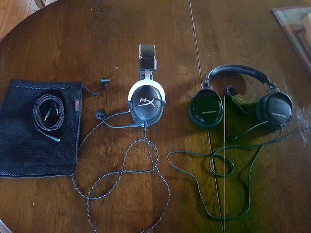 słuchawki PS4 PC, hyperX cloud, steelseries arctis 1