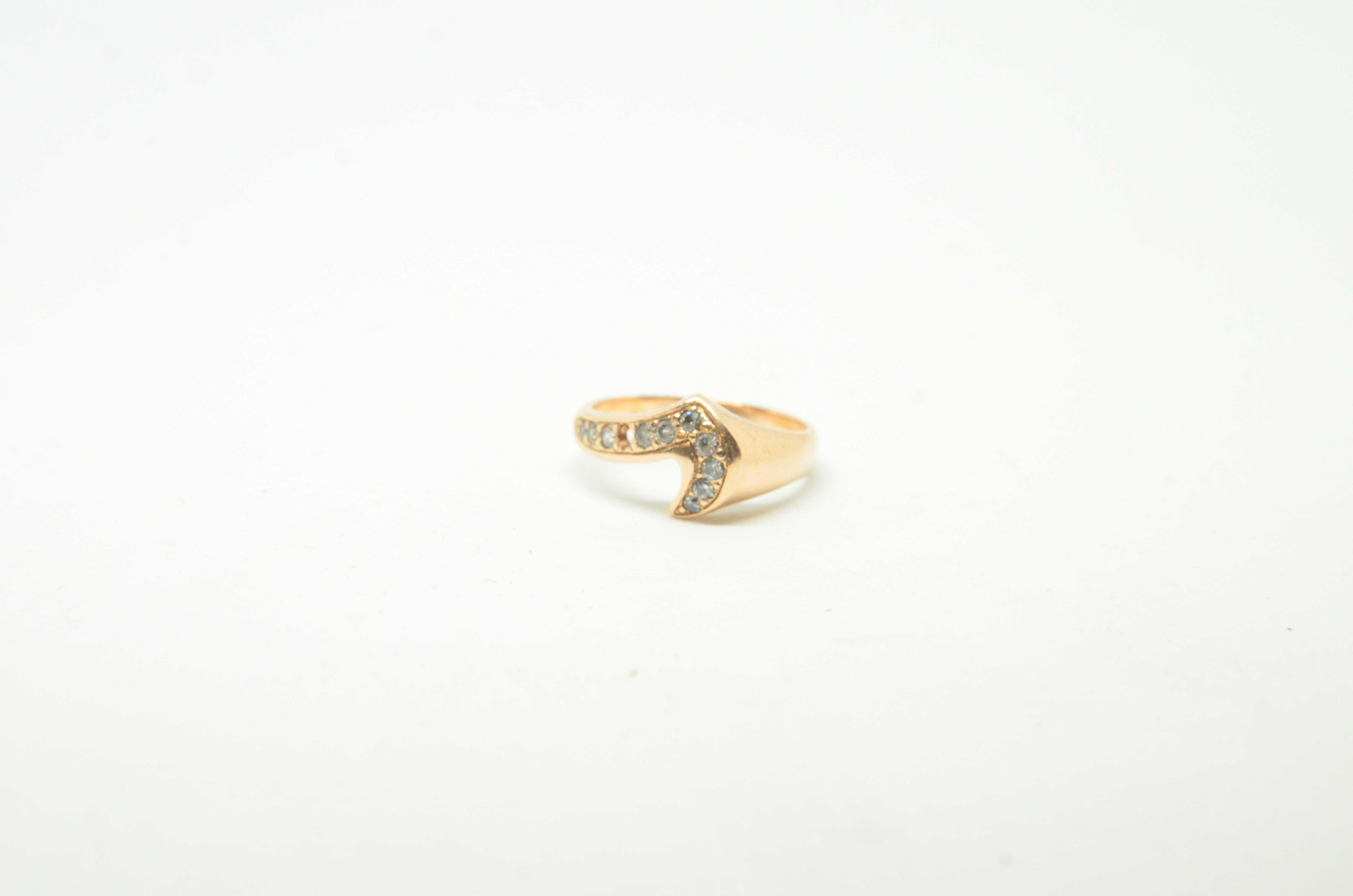 Złoty pierścionek 585 waga 4,31 rozmiar 19 Lombard Tarnów