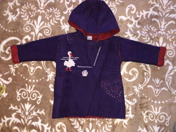 Пальто, дублёнка, курточка для девочки