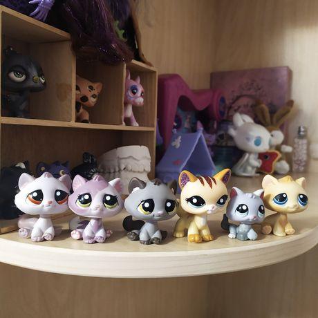 котики lps littlest pet shop