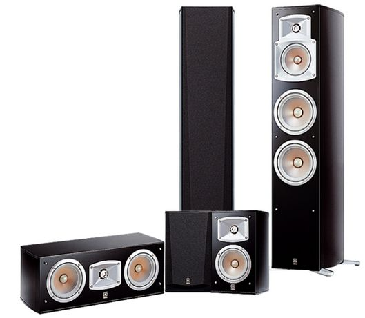 Zestaw kolumn 5.0 Yamaha NS-777, głośniki, kino domowe