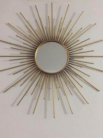 Espelho dourado 82 cm