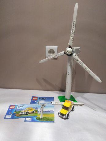 Transport Turbiny Elektrownia wiatrowa 7747 Lego unikat