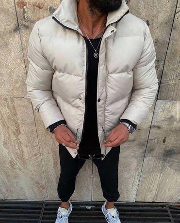 Стильная Мужская зимняя Куртка Пуховик Камон